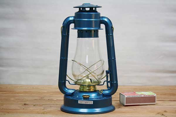 Large Hurricane Lantern Old Fashioned Oil Lantern Red
