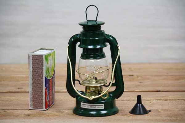 Green Small Oil Lantern