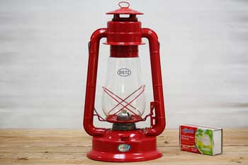 Large Red Hanging Oil Lantern