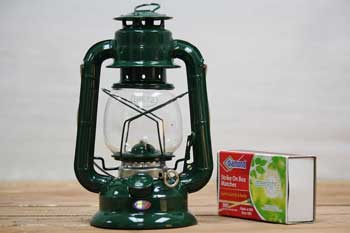 Small Kerosene Lantern Green