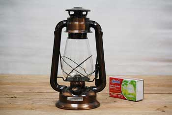 Bronze Hurricane Oil Lantern