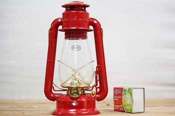 Old Style Lantern Red