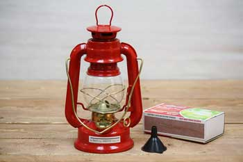 Red Small Oil Lantern