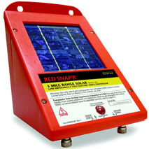 red snapu0027r lis3 solar electric fence charger