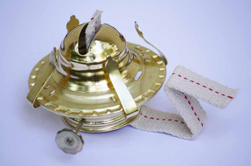 Brass Oil Lamp Burner