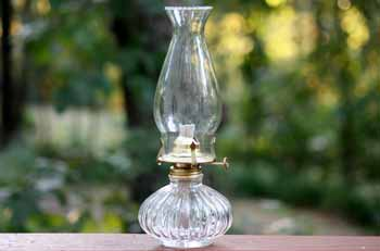 Glass Oil Lamps - Oil Burning Lamps | Red Hill General Store