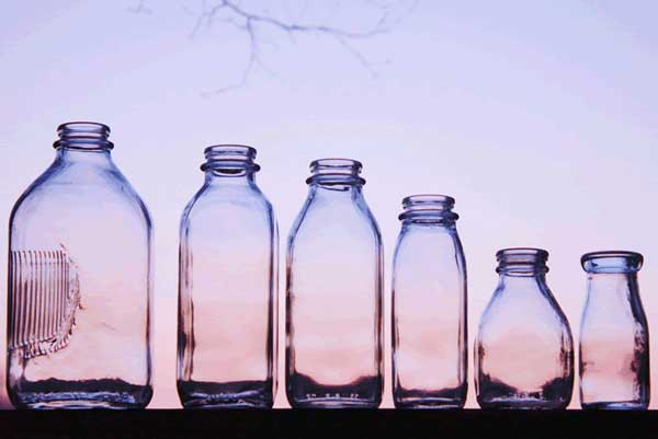 ff6a557db217 Glass Milk Bottles | Red Hill General Store