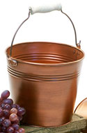 Copper Painted Bucket
